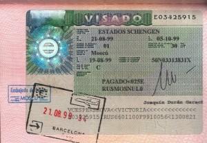 spanish viza