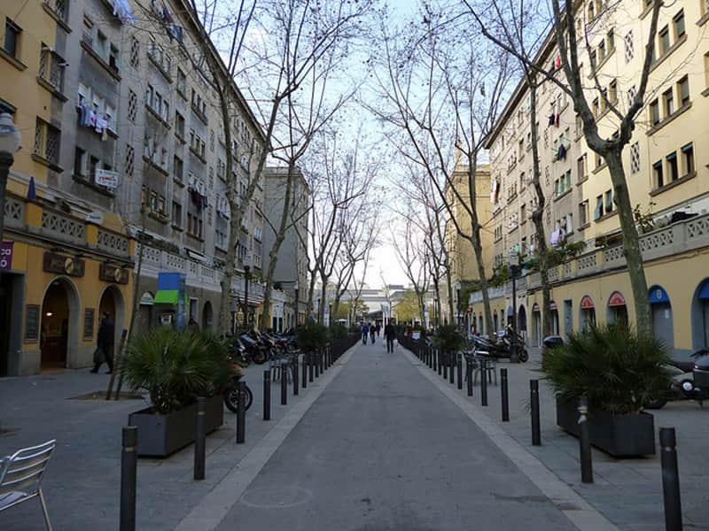 Барселонета - жилые кварталы