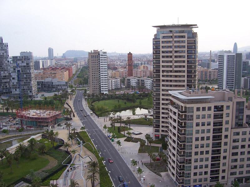 Диагональ Мар - жилые кварталы