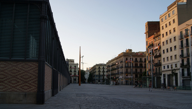 Жилые кварталы района Эль Борн